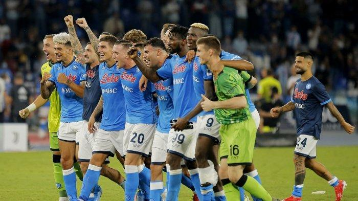Napoli Geser Inter Milan, AC Milan, AS Roma di Klasemen Liga Italia