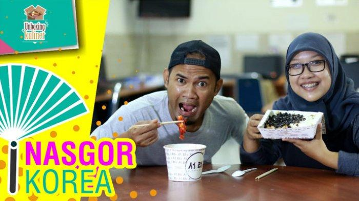 Unboxing Kuliner #5: Icip-icip Makanan Korea, Nasi Goreng Kimchi dan Tteokbokki