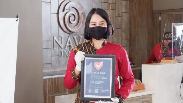 Nava Hotel Tawangmangu Lolos Sebagai Hotel yang Terapkan Protokol Kesehatan, Raih Sertifikat CHSE