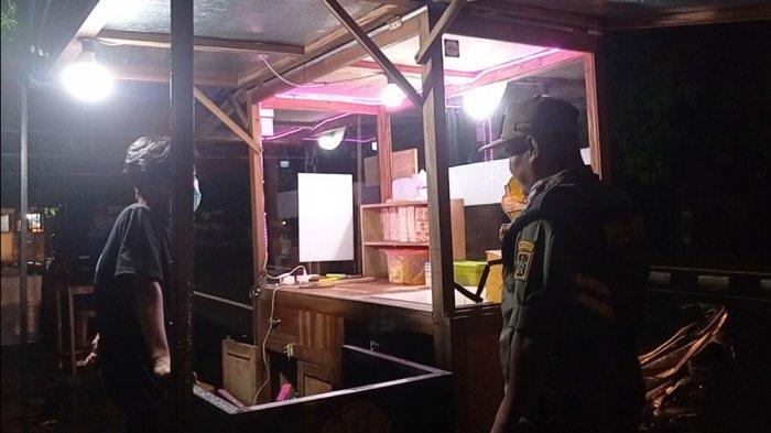 Nekat Berjualan di Malam Pergantian Tahun, Satpol PP Kulon Progo Datangi PKL di Alun-alun Wates