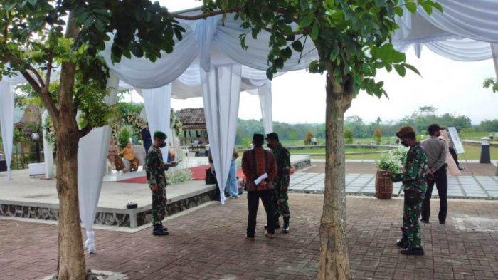 Nekat Gelar Resepsi Saat PPKM Darurat, Polsek Borobudur Bubarkan Kerumunan