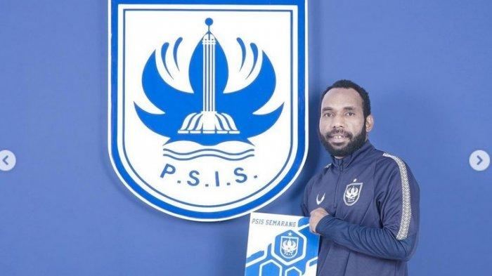 Nerius Alom resmi menjadi bagian PSIS Semarang untuk Liga 1 2021.