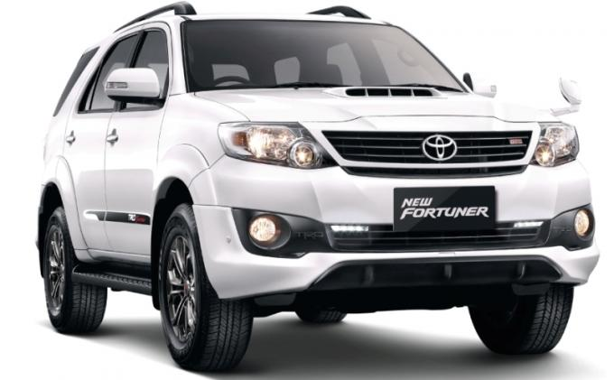 New Fortuner 2.7G Lux