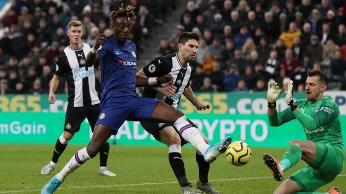 Chelsea akan tanpa Christian Pulisic dan Thiago Silva saat bertandang ke Stadion St. James' Park, Markas Newcastle, Sabtu (20/11/2020).