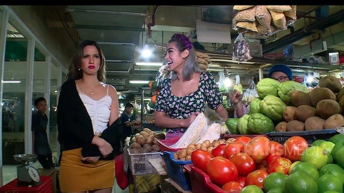 Saat Nia Ramadhani Belanja ke Pasar, Bawa Koyo di Tas Gucci hingga Disebut Salah Kostum