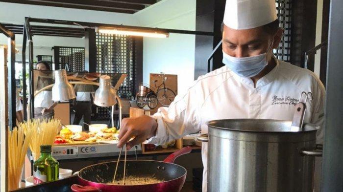 Nikmati Live Cooking di Food Market by Androwino di Sheraton Mustika Yogyakarta Resort & Spa