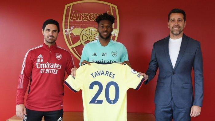 Nuno Tavares bergabung dengan Arsenal dari Benfica dengan kontrak jangka panjang.