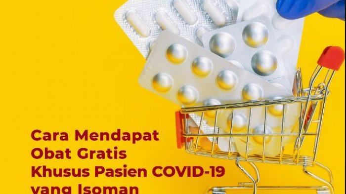 Obat Gratis Pasien COVID-19 Isoman via Isoman.kemkes.go.id, Khusus Jabodetabek