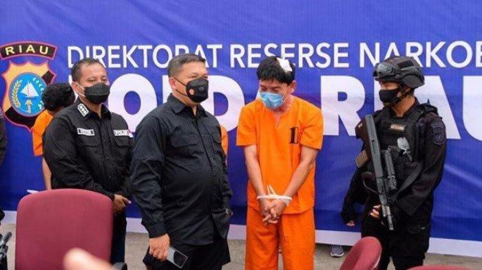 Oknum Perwira Polisi Jadi Kurir Sabu di Riau, Sanksi Tegas hingga Ancaman Hukuman Mati Siap Menanti