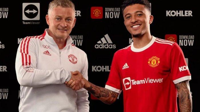 UPDATE Bursa Transfer Liga Inggris: Sancho Resmi Gabung Manchester United