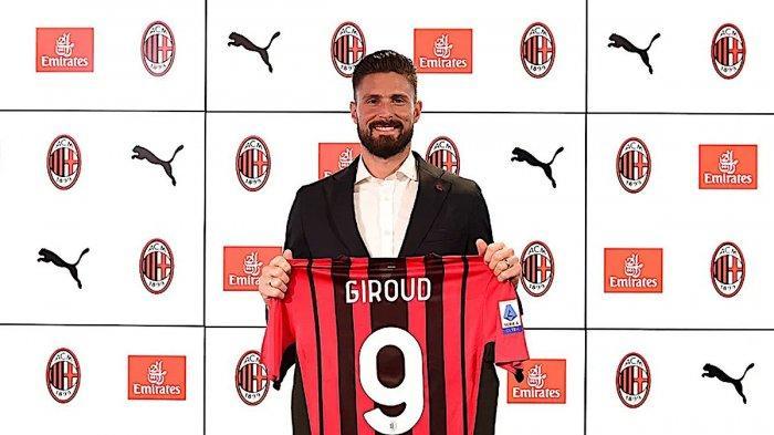 AC MILAN: Ini Kata-kata Pertama Olivier Giroud dan Alasan Gabung Rossoneri