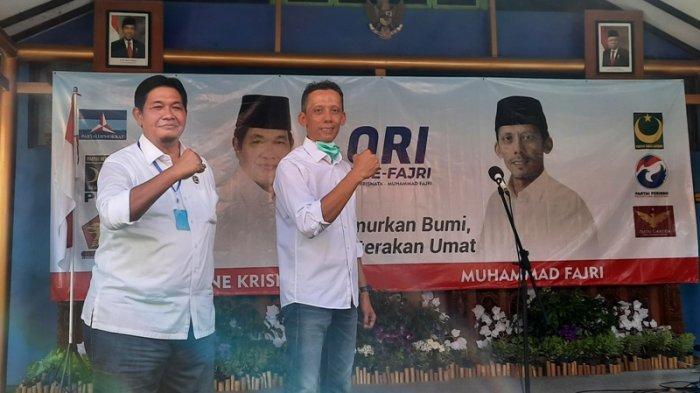 One Krisnata-Muhammad Fajri Resmi Maju Pilkada Klaten 2020, Siapkan 4 Sektor Prioritas Pembangunan