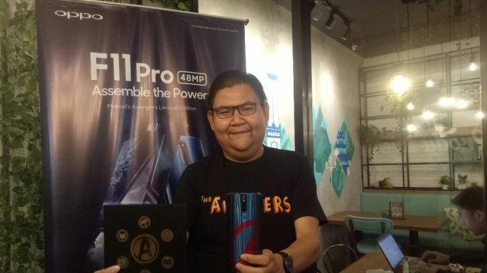 OPPO Kenalkan F11 Pro Avengers Limited Edition di Yogyakarta