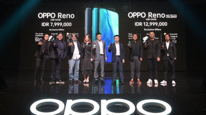 OPPO Merilis Reno Series di Indonesia untuk Pengguna yang Kreatif