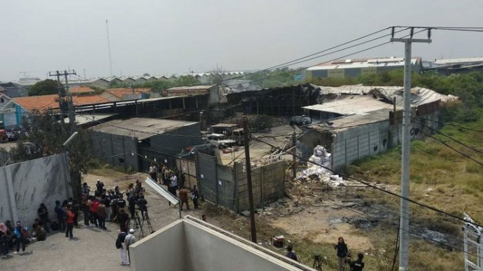 Ini Penyebab Pabrik Mercon di Tangerang Terbakar
