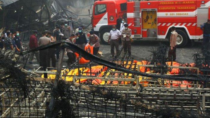 Ledakan Pabrik Mercon, Polisi Tetapkan 3 Tersangka, Satu Diantara Belum Dipastikan Hidup atau Tidak