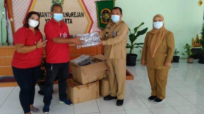 PAC PDI Perjuangan Danurejan Bagikan 3.000 Masker