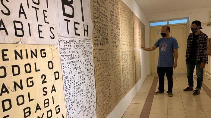 Pameran Abnormal Baru Hadirkan Karya Mengagumkan Dwi Putro, Seniman Lukis Penderita Gangguan Mental