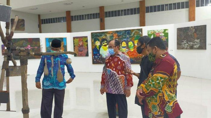 Sebanyak 40 Pelaku Seni Rupa Kulon Progo Dengan 55 Karya Tampil di Pameran Seni Rupa Kayon