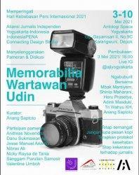 Pameran Seni Memorabilia Wartawan Udin Hadir di Hari Kebebasan Pers Internasional