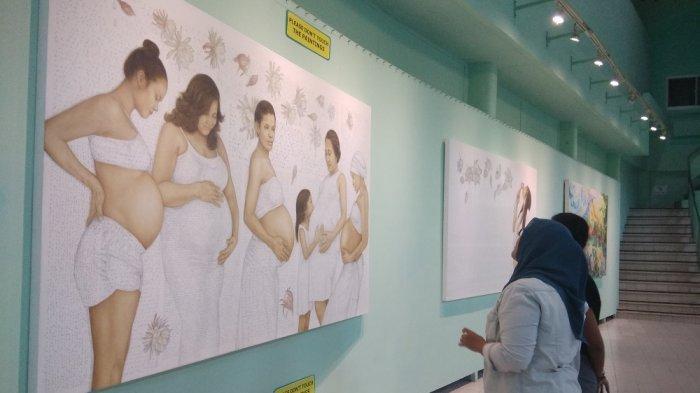 TRIBUNJOGJAWIKI : Museum Affandi, Etalasi Seni Sang Maestro Lukis Indonesia