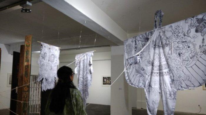 Seniman Asal Beijing Pamerkan Karya Seninya di Langgeng Art Space Yogyakarta