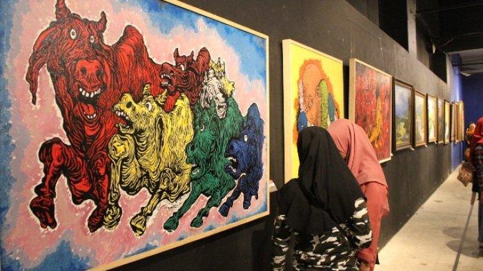 Nuansa Estetika Tandai Satu Dasawarsa Edu Art Forum