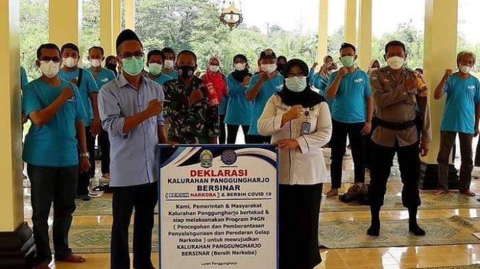 Lurah Panggungharjo : Stop Narkoba Mulai dari Lingkungan Keluarga
