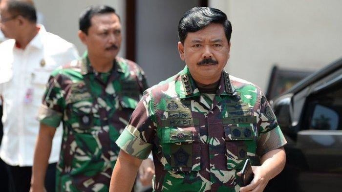 Daftar Perwira TNI TNI AD, AL dan AU yang Dimutasi Marsekal TNI Hadi Tjahjanto