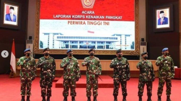 Panglima TNI Naikan Pangkat 56 Perwira Tinggi TNI AD, AL dan AU, Berikut Daftar Lengkapnya