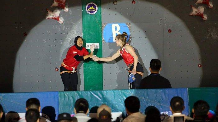 Memanjat Super Cepat Bak Spiderman Atlet Panjat Tebing Asal Grobogan Jadi Jawara Di Kejuaraan Dunia Tribun Jogja
