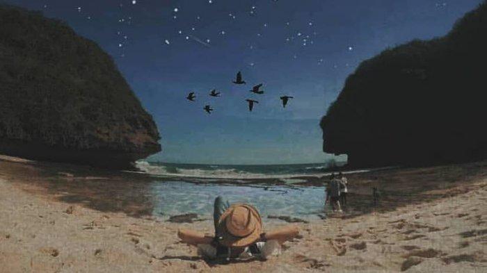 Sederet Pantai Jogja Ini Dikelilingi Tanaman Hijau, Menyegarkan Pandangan Mata