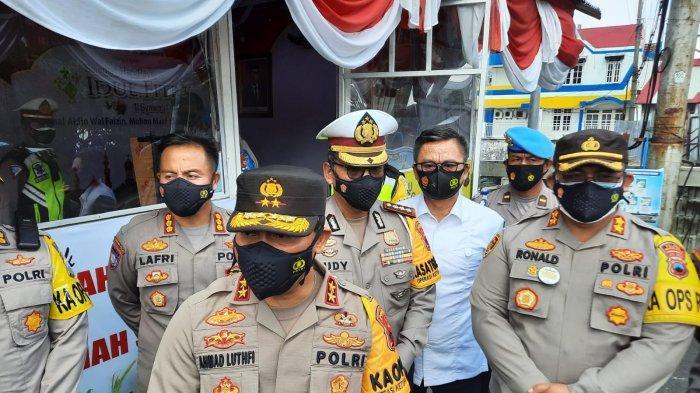Pantau Kesiapan Anggota, Kapolda Jateng Lakukan Pengecekan di Pos Mertoyudan Magelang