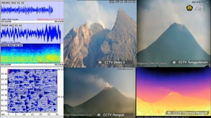 Hingga Minggu Pagi, Gunung Merapi Luncurkan 4 Kali Guguran Lava Pijar Selama Periode 6 Jam Terakhir