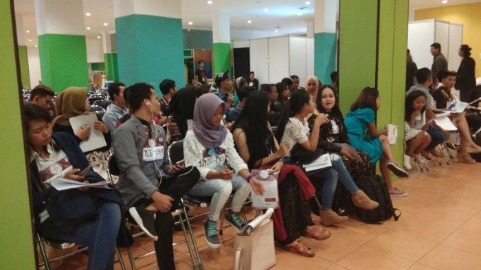 Suasana Audisi Liga Dangdut Indonesia di Yogyakarta
