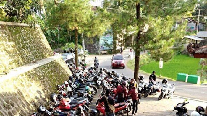 3000 Orang Kunjungi Obyek Wisata Nglanggeran Gunungkidul Hari Ini