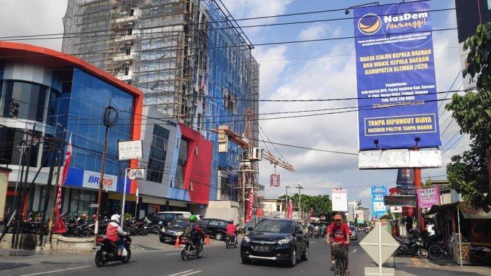 Partai Nasdem Pasang Baliho Jaring Bakal Calon Bupati dan Wakil Bupati Sleman