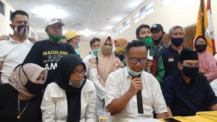 Muchamad Nur Aziz - M Mansyur Klaim Kemenangan Versi Hitung Cepat Timnya
