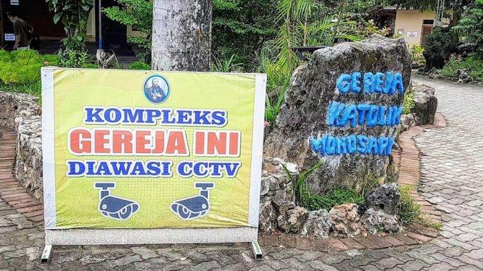 Paska Bom Makassar, Gereja di Gunungkidul Lebih Waspada