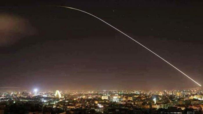 Tengah Malam, Israel Luncurkan Roket ke Wilayah Suriah, Langsung Direspon Pasukan Pertahanan