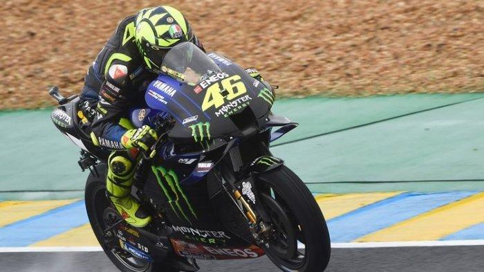 Luapan Kekecewaan Valentino Rossi ke Yamaha Start ke-16 di MotoGP Valencia