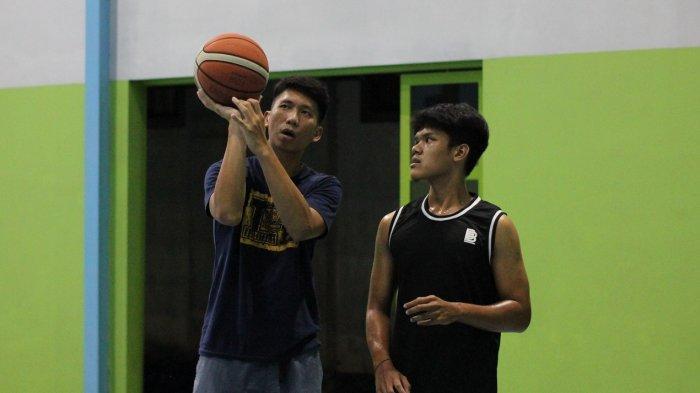 Pebasket Bank BPD DIY Bima Perkasa Bagi Pengalaman Pemain Muda Akademi