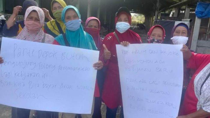 Pedagang Kuliner di Pantai Depok Minta Obyek Wisata di Bantul Dibuka Kembali