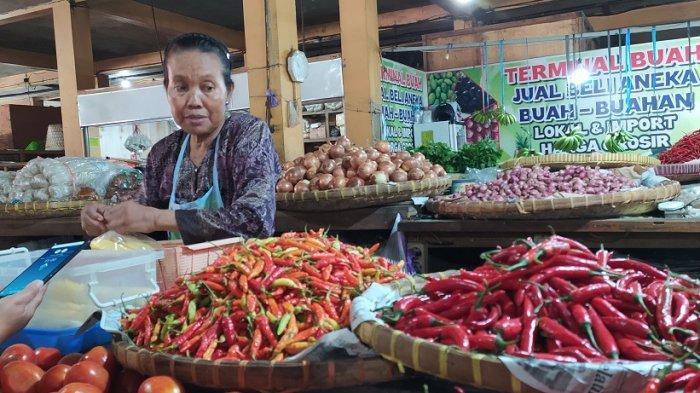Pedagang Pasar Beringharjo Yogyakarta Berharap Wabah Virus Corona Segera Berlalu Halaman All Tribun Jogja