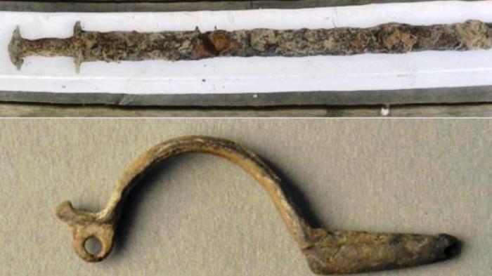 Pedang Kuno Era Pra-Viking Berusia 1.500 Tahun Ditemukan Bocah 8 Tahun di Tepi Danau