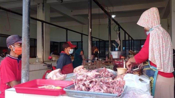 Pekan Kedua Ramadan, Harga Bapok di Pasar Tradisional Kulon Progo Stabil