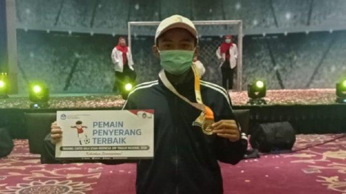 Pelajar SMP 3 Sleman Raih Predikat Penyerang Terbaik di Ajang Gala Siswa Indonesia