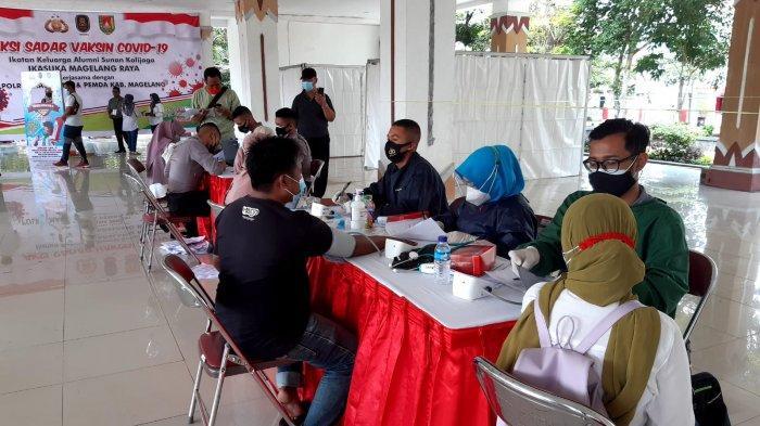 Gandeng Polres dan Pemkab Magelang, Alumni UIN Sunan Kalijaga Gelar Vaksinasi Massal