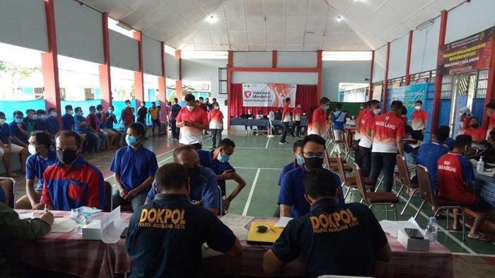 545 Warga Binaan di Lapas Kota Magelang Ikuti Vaksinasi Covid-19