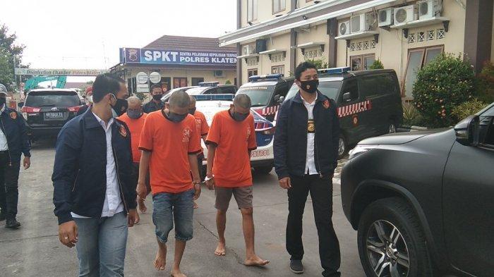Komplotan Pelaku Pembobol ATM di Klaten Diringkus Polisi